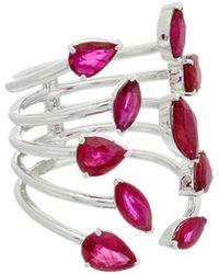 Diana M. Jewels - . Fine Jewelry 18k 4.22 Ct. Tw. Ruby Ring - Lyst