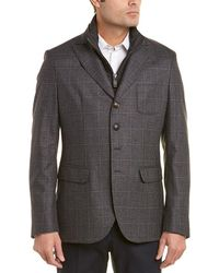 Pal Zileri - Scooter Silk & Cashmere-blend Jacket - Lyst