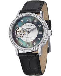 Stuhrling Original - Stuhrling Memoire Diamond Watch - Lyst