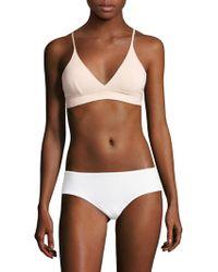 Skin Worldwide - Hadlee Cotton Triangle Bra - Lyst