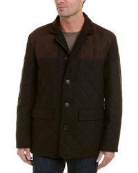 Hart Schaffner Marx - Shooter Wool-blend Coat - Lyst