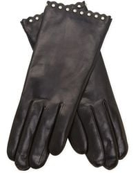 Maison Fabre - Studded Leather Gloves - Lyst