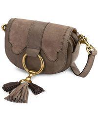 Frye - Ilana Suede Mini Crossbody Bag - Lyst