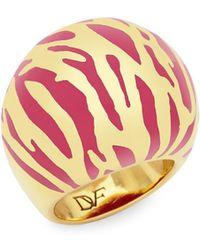 Diane von Furstenberg - Patterned Ring - Lyst
