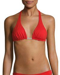 Basta Surf - Straddie Reversible Halter Bikini Top - Lyst