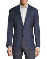 Saks Fifth Avenue | Textured Wool & Silk Suit Jacket | Lyst