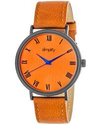Simplify - Unisex The 2900 Watch - Lyst