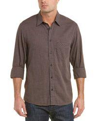 Billy Reid - Walland Standard Fit Woven Shirt - Lyst