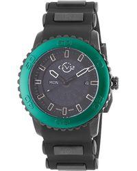 Gv2 - Aurora Stainless Steel & Silicone Watch, 45mm - Lyst