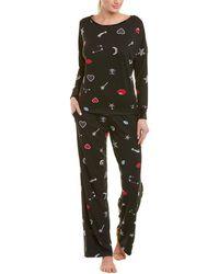 Betsey Johnson - 2pc Keep Dreaming Pajama Set - Lyst
