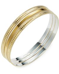 Anna Beck Jewelry - Gold Bangles (set Of 3) - Lyst