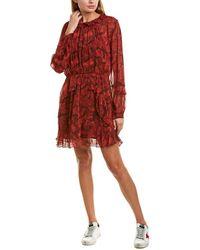 IRO Robe Prime Mini Dress - Red