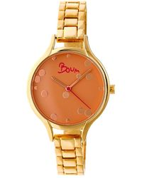 Boum - Womens Gold Bulle Watch - Lyst