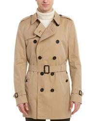 Burberry - Kensington Mid-length Trench Coat - Lyst