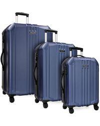 Elite Luggage - Long Beach 3pc Hardside Spinner Luggage Set - Lyst