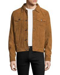 BLK DNM - 5 Suede Jeans Jacket - Lyst