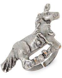 Valentino - Unicorn Statement Ring - Lyst