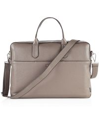 Ben Minkoff - Liam Pebbled Leather Briefcase - Lyst
