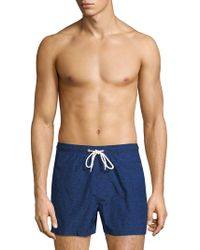 North Sails - Icons Printed Volley Swim Shorts - Lyst