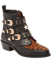 Ivy Kirzhner - Steampunk Studded Ankle Boot - Lyst