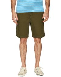 Tailor Vintage - Canvas Cotton Walking Shorts - Lyst