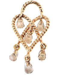 Poiray - 18k Rose Gold Quartz Enhancer - Lyst
