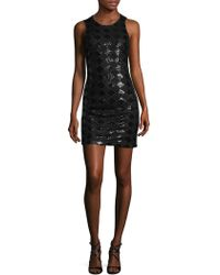 Armani Exchange - Diamonds Crewneck Dress - Lyst