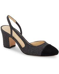 Ivanka Trump - Liah Slingback Court Shoes - Lyst