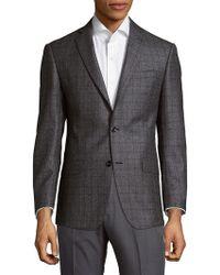 Michael Kors | Checkered Wool Sport Coat | Lyst