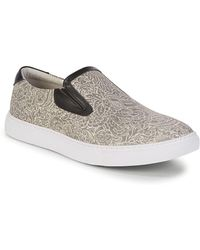 Robert Graham - Estrada Leather Slip-on Sneakers - Lyst