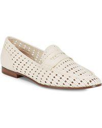 Sam Edelman - Leora Leather Loafers - Lyst