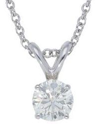 Nephora - 14k 0.50 Ct. Tw. Diamond Necklace - Lyst