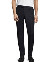 The Kooples - Wool Tonal Dress Trousers - Lyst