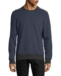2xist - Heathered Crewneck Sweatshirt - Lyst