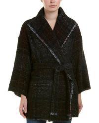 IRO - Wool-blend Bever Coat - Lyst