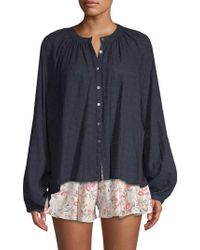 Free People - Down From The Clouds Blouse - Lyst