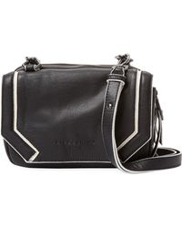 Liebeskind - Black/white Piping Crossbody - Lyst