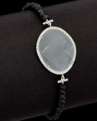 Meira T - 14k & Silver 7.26 Ct. Tw. Diamond & Moonstone Bracelet - Lyst