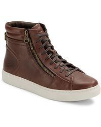 Andrew Marc - Remsen High-top Trainers - Lyst