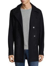 Jared Lang - Double Breasted Wool Jacket - Lyst