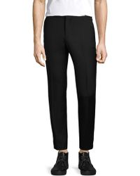 The Kooples - Tailor Wool Straight Fit Trousers - Lyst