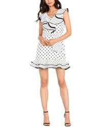 Dance & Marvel - Linen Dress - Lyst