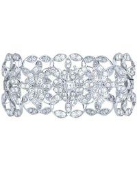 Kwiat - Crochet 18k White Gold 19.14 Ct. Tw. Diamond Bracelet - Lyst