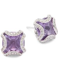 John Hardy - Sterling Silver Stud Earrings - Lyst