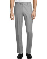 Lubiam - Wool Dress Pants - Lyst