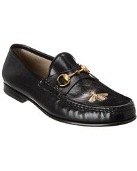 Gucci Horsebit Leather Loafer