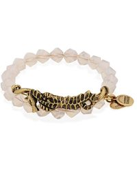 ALEX AND ANI - Deep Sea Shore Seahorse Wrap Bracelet - Lyst