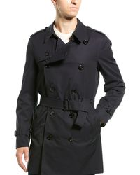 Burberry - Short Chelsea Fit Trench Coat - Lyst