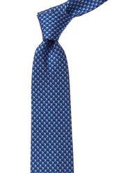 Ferragamo - Royal Blue Mouse Silk Tie - Lyst