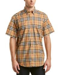 Burberry - Vintage Check Woven Shirt - Lyst